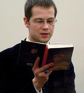 Jacek Dehnel Polish writer, poet, translator and painter