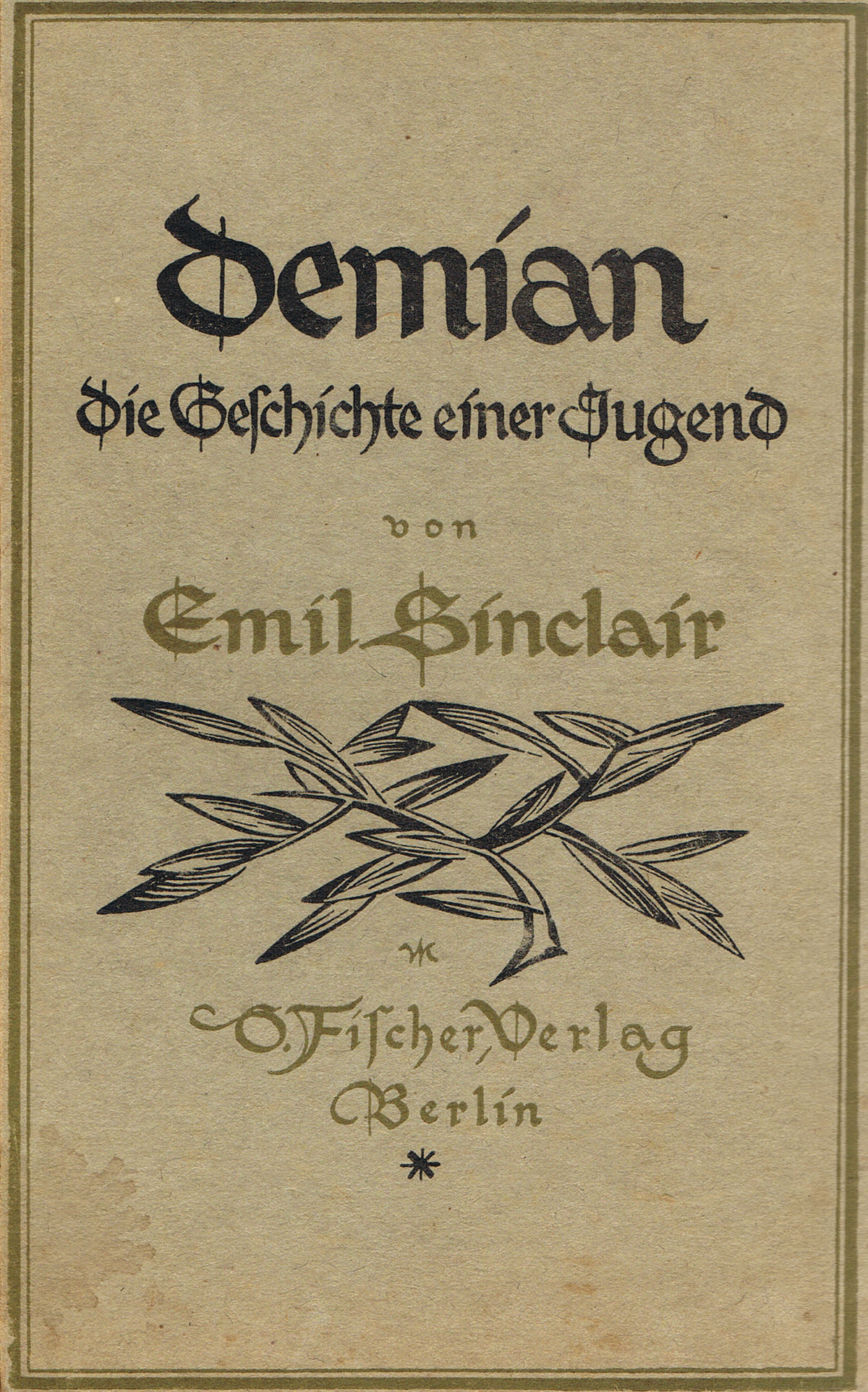 "an analysis of demian the story of emil sinclairs youth by hermann hesse Demian is a story in which ""emil sinclair learned how to novels of hermann hesse, p 65), sees ""demian and siddhartha"" as hesse, p x) ""youth."