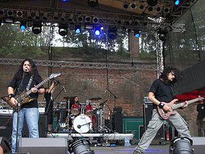 Demonic Resurrection - Demonic Resurrection performing at Brutal Assault in 2010