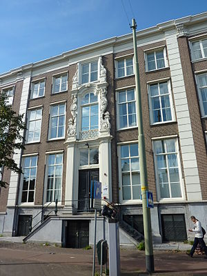 Permanent Court of Arbitration - Prinsegracht 71, The Hague, a building dating from about 1728, which was the seat of the PCA between 1901 and 1913, when the construction of the Peace Palace was completed.