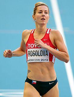 Denisa Rosolová Czech athlete