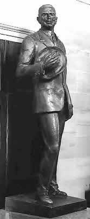 Dennis Chávez - Statue of Dennis Chávez by Felix de Weldon in Statuary Hall of the U.S. Capitol.