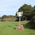 Dersingham village sign - geograph.org.uk - 262341.jpg