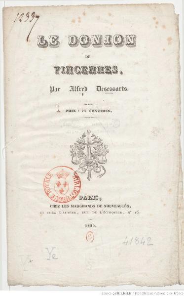 File:Des Essarts - Le Donjon de Vincennes, 1830.djvu