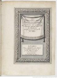 René Descartes: Les Principes de la philosophie