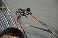 Desi Boats Manipulation - River Ichamati - Taki - North 24 Parganas 2015-01-13 4590.JPG