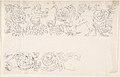 Designs for Decorative Borders with Floral Ornamentation and a Putto and Griffin MET DP802732.jpg