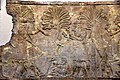 Detail, Assyrian military campaign in southern Iraq, slabs made 640-620 BCE. British Museum, London.jpg