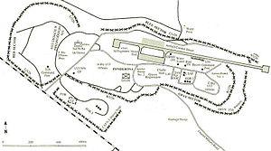 Khe Sanh Combat Base - Diagram of base