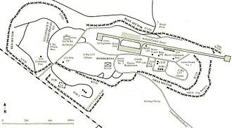Khe Sanh Combat Base - Diagram of base