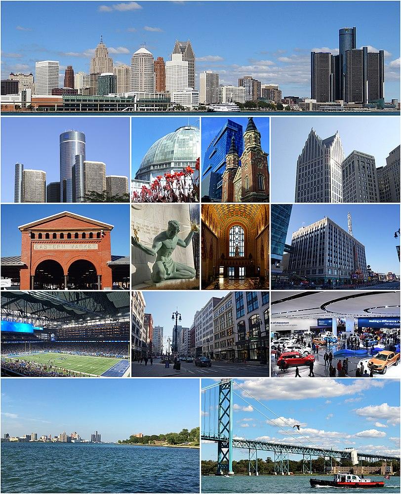 The population density of Detroit in Michigan is 1838.36 people per square kilometer (4761.32 / sq mi)