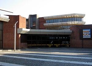 German School of Barcelona - The school's main entrance at Jacint Esteva Fontanet avenue