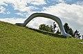 Die Erdkugel als Koffer by Peter Weibel, Österreichischer Skulpturenpark 02.jpg