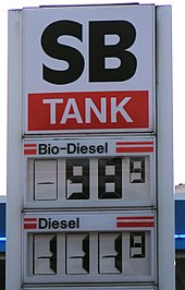 In some countries biodiesel is less expensive than conventional diesel.