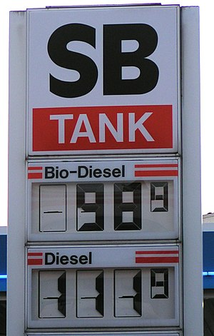 In some countries, filling stations sell bio-d...