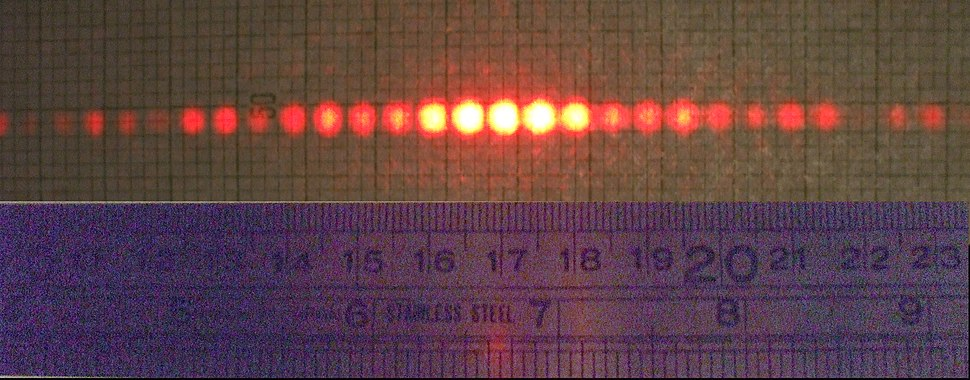 Diffraction 150 slits