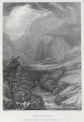 Dinas Craig, in the vale of Neath, near pont Neath Vaughan