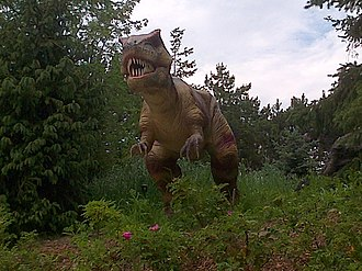 Dinosaurs Alive! (attraction) - Dinosaurs Alive! exhibit entrance at Canada's Wonderland