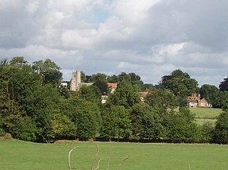 Dinton, Buckinghamshire Human settlement in England