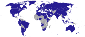 Visa requirements for Hungarian citizens - Countries with Hungarian diplomatic missions
