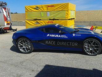 Rimac Concept One - Rimac Concept One pace car at the 2014 Punta del Este ePrix in Uruguay.