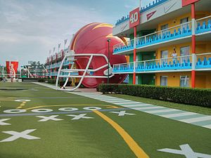 Disney's All-Star Sports Resort - Image: Disney All Stars Sports Hotel