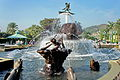 Disneyland Resort Fountain on Park Promenade (Hong Kong).jpg