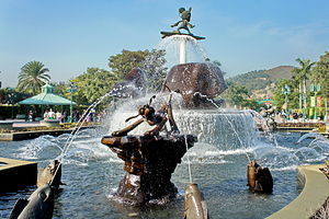 Hong Kong Disneyland Resort - Park Promenade Fountain
