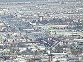 Distribuidor Vial el Sarape y Motel La Torres, Desde el mirador del Cristo de las Galeras, Saltillo Coahuila - panoramio.jpg