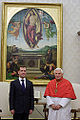 Dmitry Medvedev in the Vatican City 3 December 2009-4.jpg