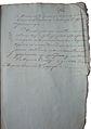 Document of Minsk military governorship office - 11 September 1814 AD.jpg
