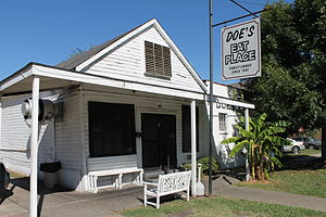 National Register of Historic Places listings in Washington County, Mississippi - Image: Doe's Place