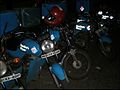 Domino's delivery motorcycles in Mumbai.jpg