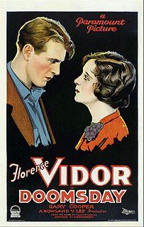 <i>Doomsday</i> (1928 film) 1928 film by Rowland V. Lee