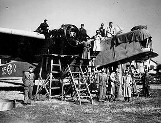 Dornier Do 11 - Dornier Do-11 with Bulgarian Insignia