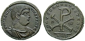 Magnentius - Image: Double Centenionalis Magnentius XR s 4017
