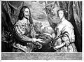 Double portrait of Charles I and His Wife, Henrietta Maria. Wellcome L0021170.jpg