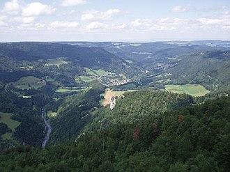 Goumois, Doubs - Image: Doubstal Goumois