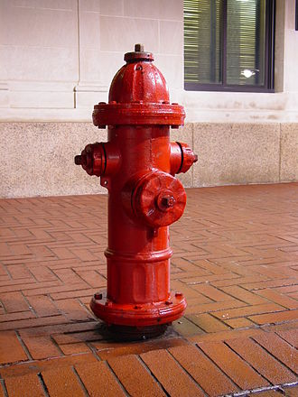 Fire hydrant - Fire hydrant in Charlottesville, Virginia, USA