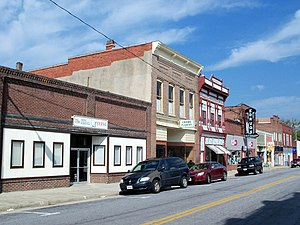 Crewe, Virginia - Downtown Crewe
