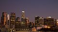 Downtown LA at Sunset..jpg
