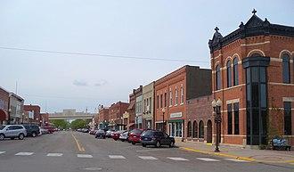 Wabasha, Minnesota - Downtown Wabasha