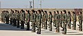 Dozens of YPJ fighters stand in formation.jpg