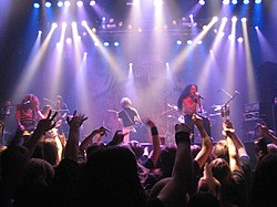 Dragonforce live beim Finnish Metal Expo 2007
