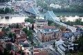 Dresden - Blaues Wunder von Schwebebahn gesehen.jpg