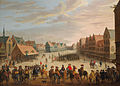 Droochsloot - Prince Maurice of Orange dismissing the mercenaries in Neude Square in Utrecht on 31 July 1618.jpg