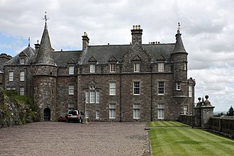 Drummond Castle - The mansion