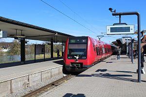 Holte station - Image: Dsb s bahn kopenhagen linie b 777287