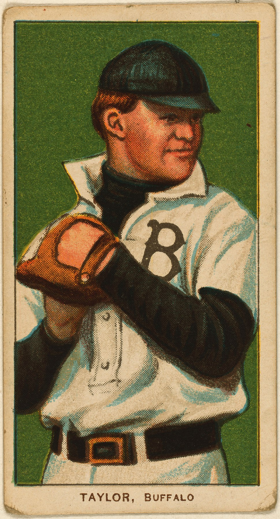 Dummy Taylor, pitcher, Buffalo Bisons, ca. 1910