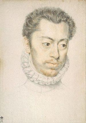 Pierre Dumonstier I - Portrait of Etienne Dumonstier, c. 1570, Hermitage Museum.